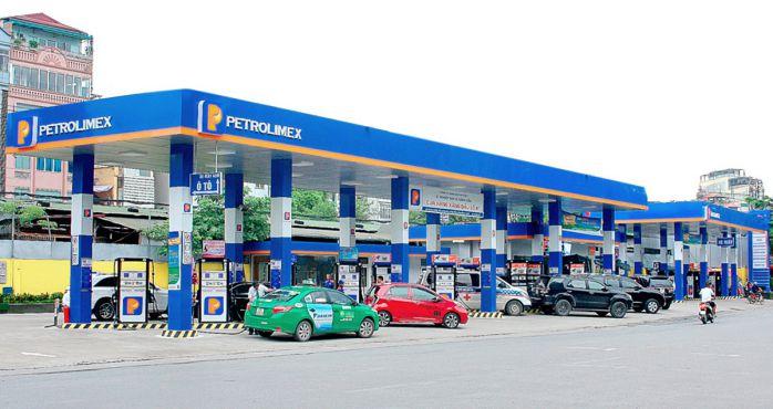 logo xăng dầu  petrolimex