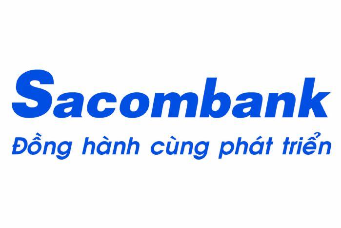 thiết kế logo sacombank hiện tại