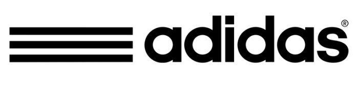 adidas logo bằng chữ word mark