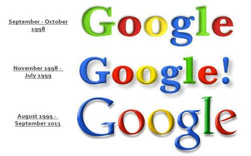 Google logo đơn giản, hiện đại