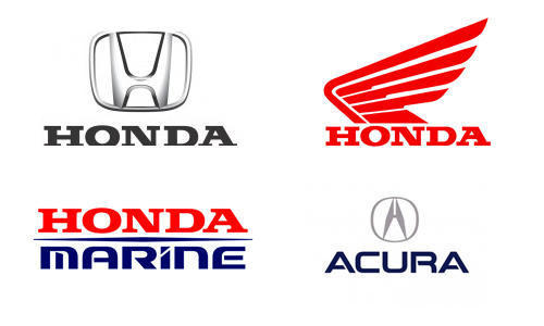 logo Honda qua các giai đoạn
