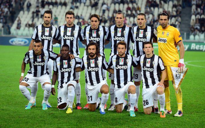 trang phục thi đấu của Juventus