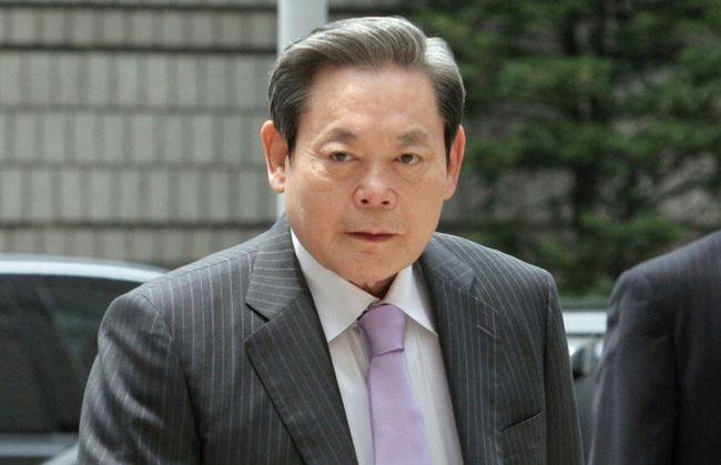 chủ tịch tập đoàn Samsung