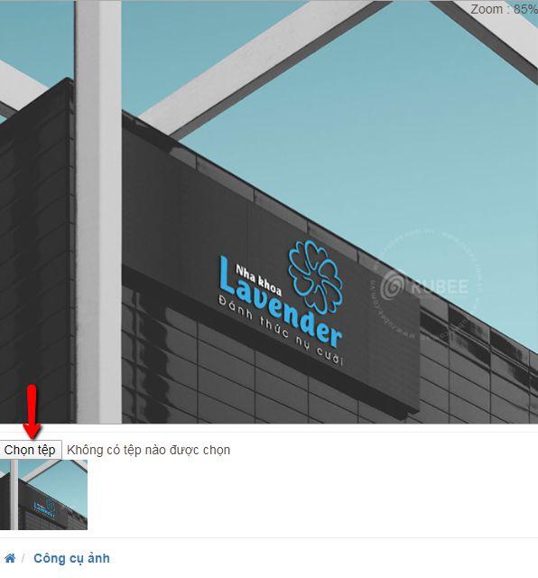 hướng dẫn cách chèn logo vào ảnh online