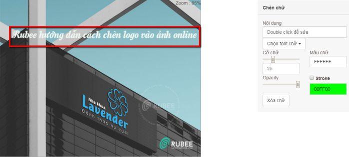 hướng dẫn cách chèn logo vào ảnh trên website