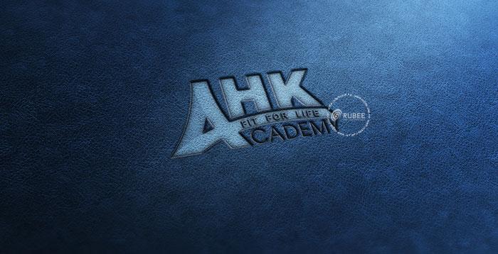Phối cảnh thiết kế logo AHK Academy