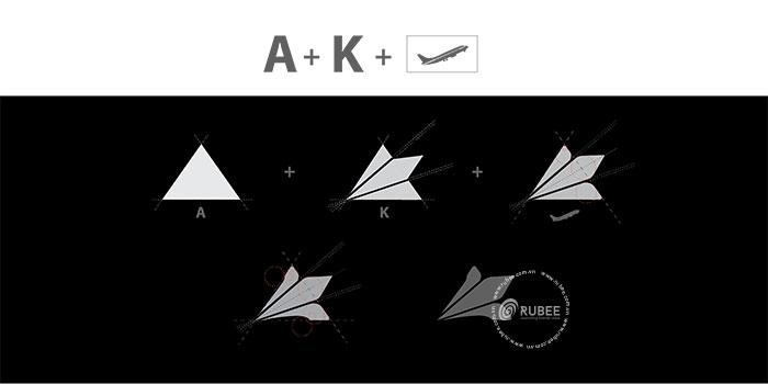 Thiết kế logo giày thể thao Akka