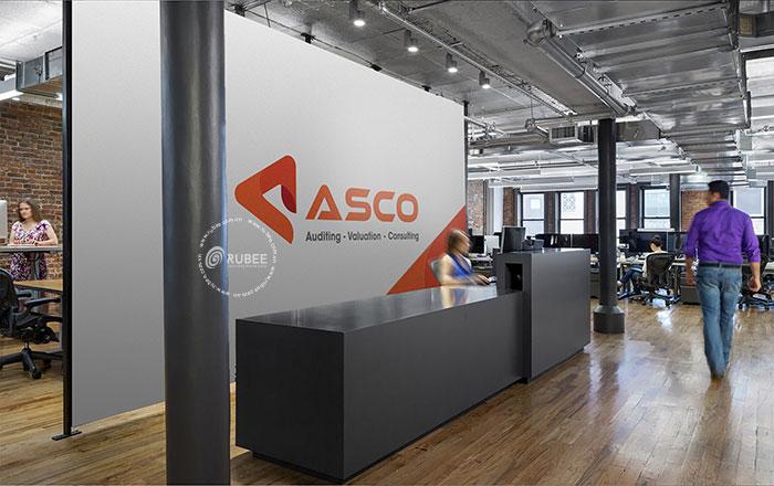 Thiết kế logo Asco tại Rubee