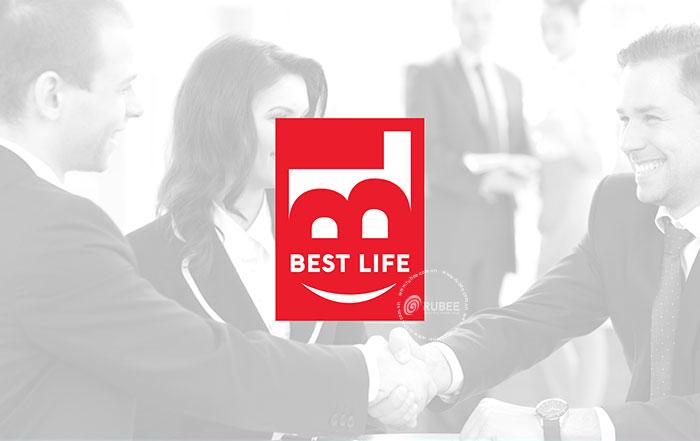 Thiết kế logo bảo hiểm nhân thọ Best Life