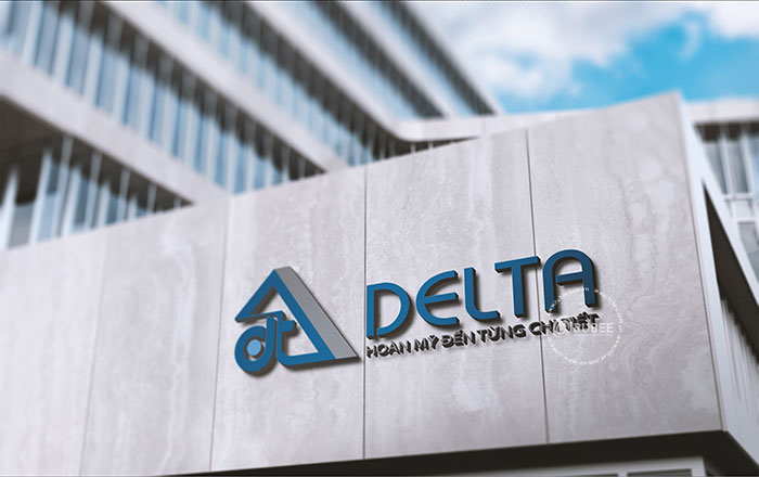 Thiết kế logo công ty tủ sắt Delta