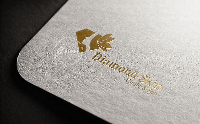 Thiết kế logo spa Diamond Skin