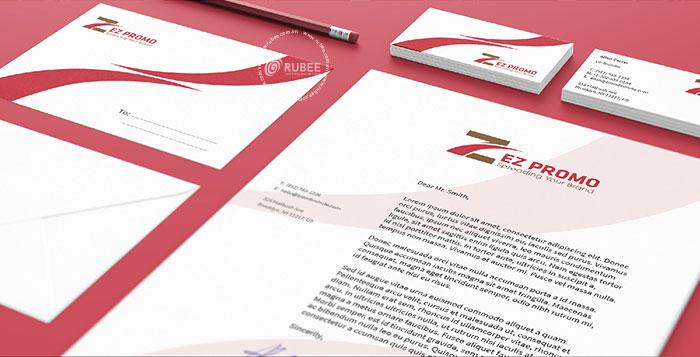 Thiết kế logo doanh nghiệp xuất nhập khẩu Ez Promo