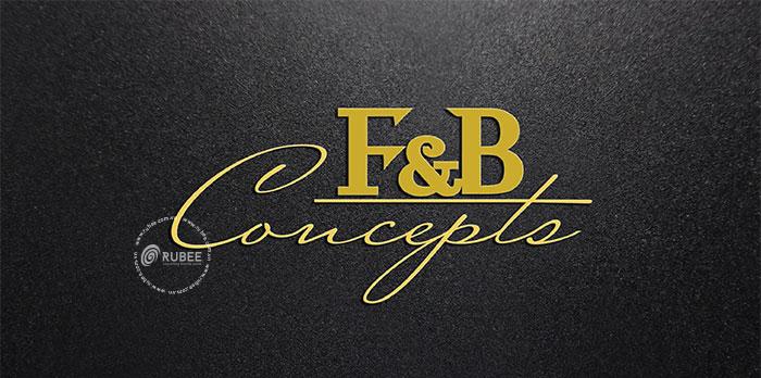 Thiết kế logo công ty F&B Concept