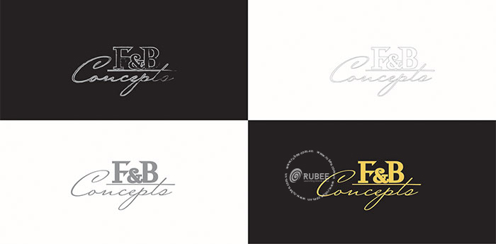 Thiết kế logo lĩnh vực tư vấn giải pháp xây dựng cửa hàng thực phẩm F&B Concept