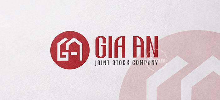Thiết kế logo nội thất Gia An