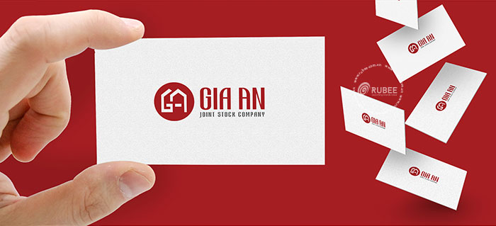 Thiết kế logo thương hiệu nội thất Gia An