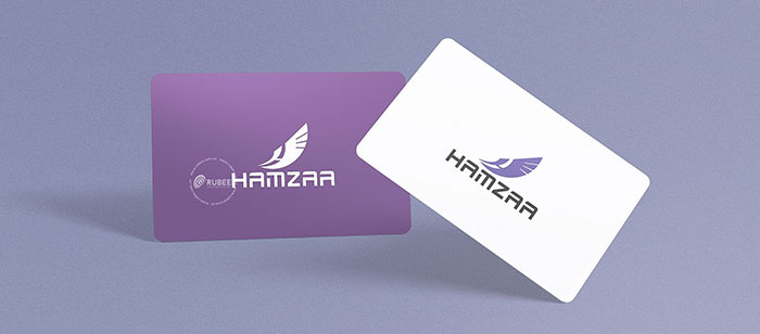 Thiết kế logo Hamzaa tại Rubee