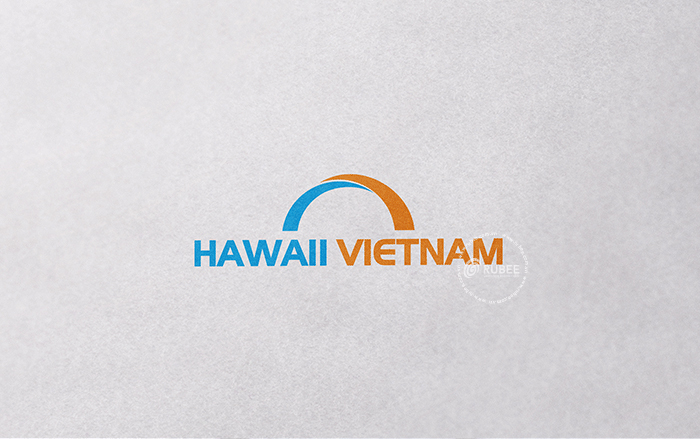 Thiết kế logo Haiwaii Vietnam