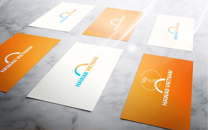 Thiết kế logo đào tạo Haiwaii Vietnam