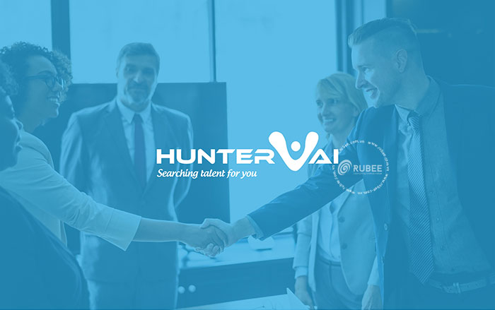 Thiết kế logo Huntervai