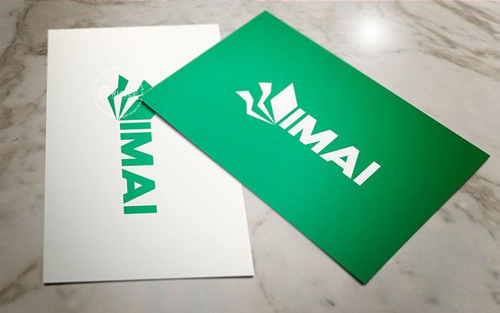 Phối cảnh thiết kế logo công ty điện lục Imai