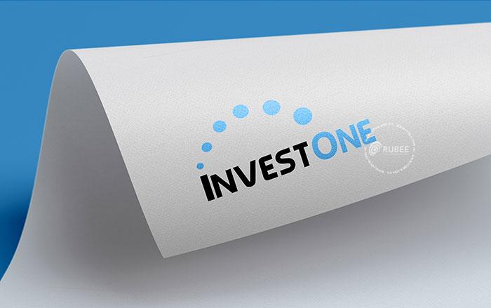 Phối cảnh thiết kế logo InvestOne