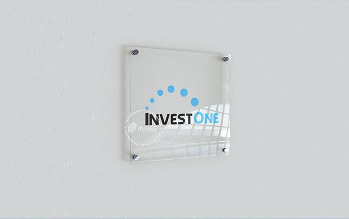 Thiết kế logo InvestOne tại Rubee