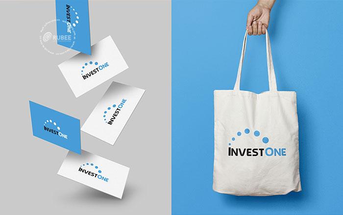 Thiết kế logo luật nhất an InvestOne