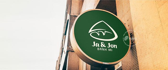 Thiết kế logo thương hiệu bánh mì Ja Jon