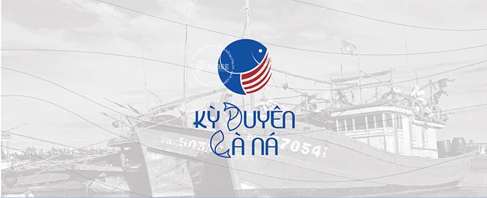 Thiết kế logo nước mắm Kỳ Duyên Cà Ná