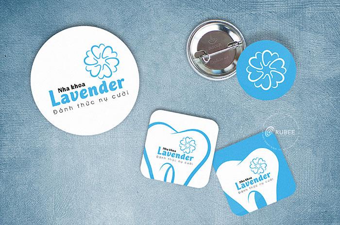 Thiết kế logo thương hiệu Lavender