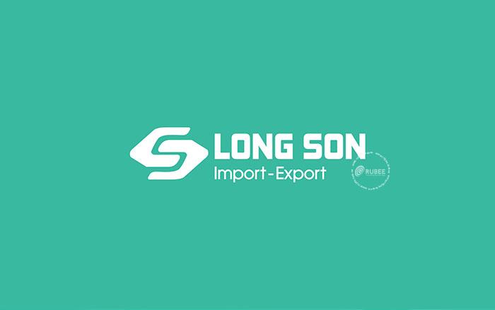 Thiết kế logo xuất nhập khẩu Long Sơn