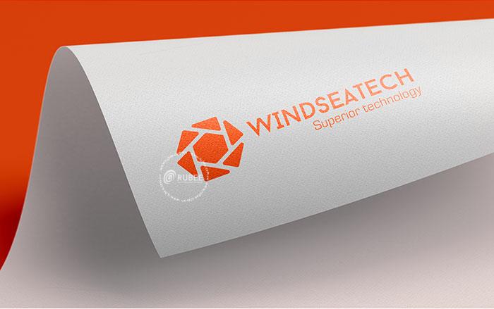 Phối cảnh thiết kế logo thiết bị xây dựng Winseatech