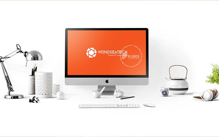Thiết kế logo thương hiệu thiết bị xây dựng Winseatech