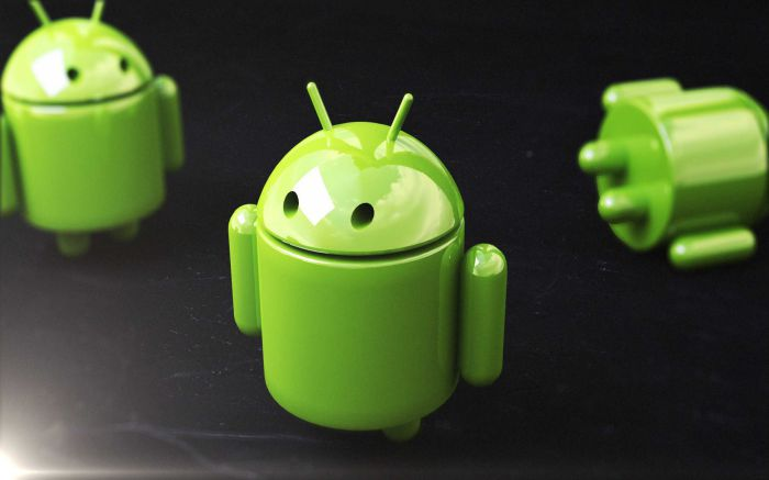 thiết kế logo android