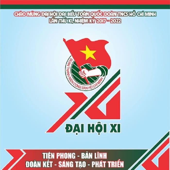 logo đại hội đoàn toàn quốc XI