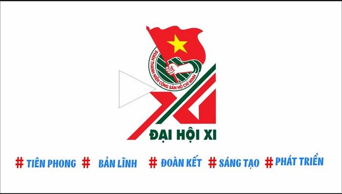 logo đại hội đoàn toàn quốc XI do ai sáng tác