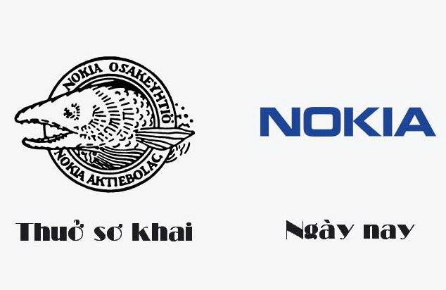 Logo Nokia đầu tiên