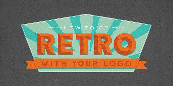 Đặc trưng của phong cách thiết kế logo Retro