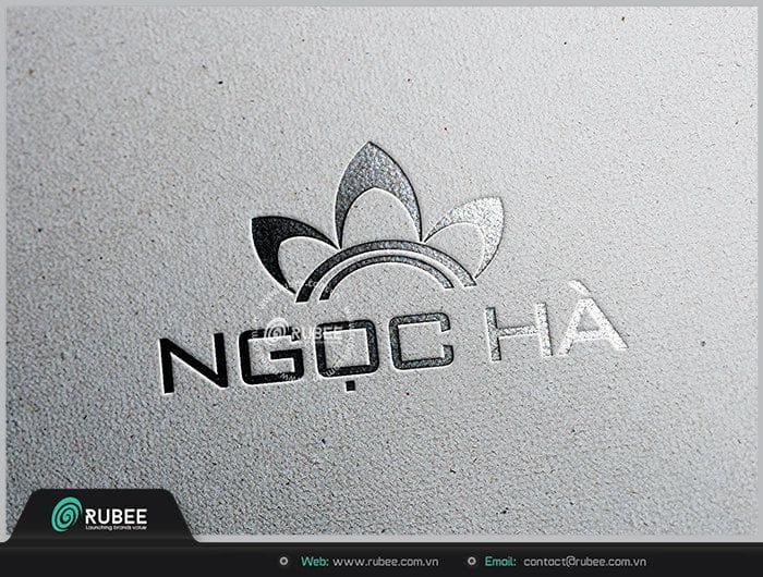 mẫu logo y tế, dược phẩm công ty Ngọc Hà