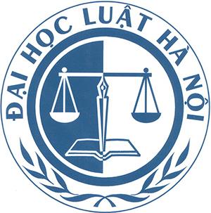 Logo Đại Học Luật Hà Nội