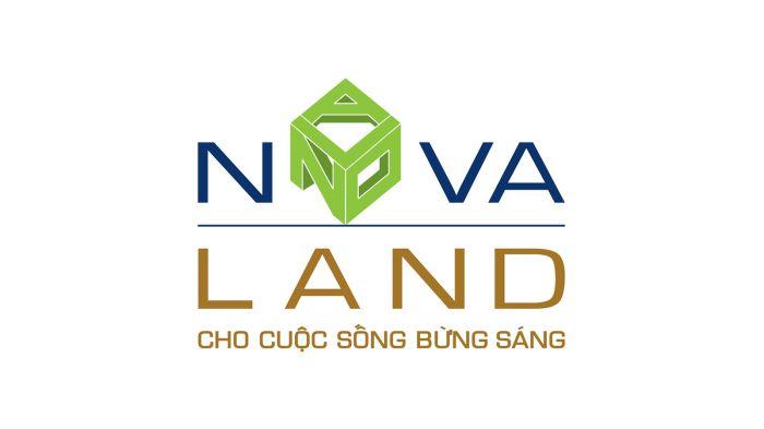 thiết kế novaland logo