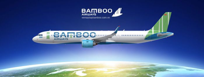 logo hãng hàng không bamboo airways