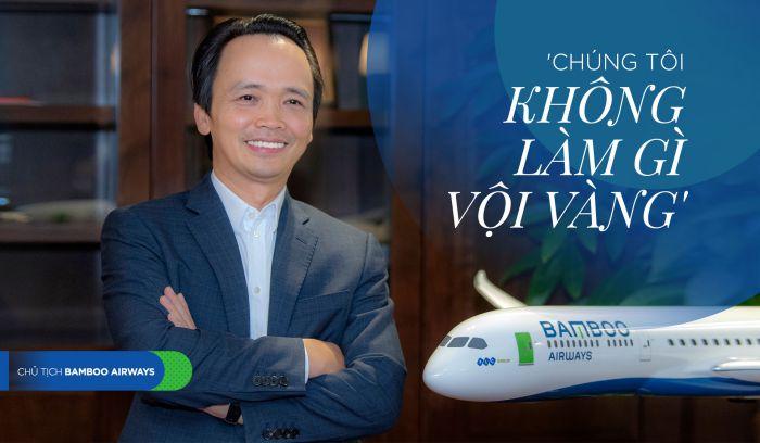 chủ tịch hãng bamboo airways