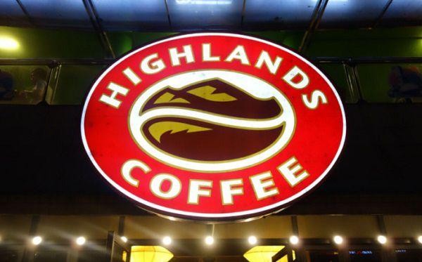 Logo cafe highland