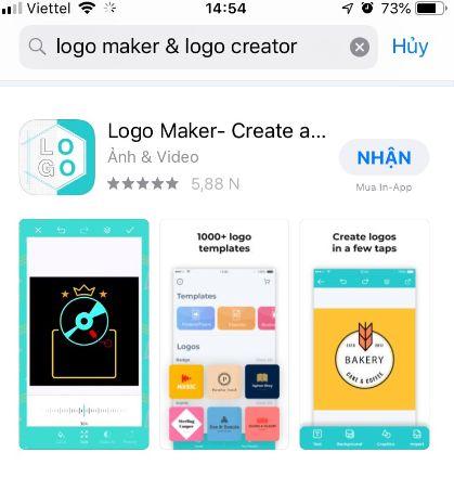 tải phần mềm logo Logo Maker- Create a design