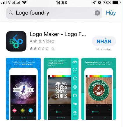tải phần mềm logo - Logo Maker – Logo Foundry