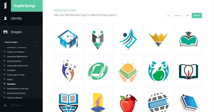 công cụ tự thiết kế logo