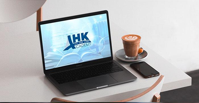 Thiết kế logo trung tâm dạy nghề AHK Academy