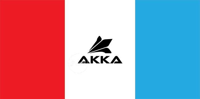 Thiết kế logo thương hiệu giày thể thao Akka